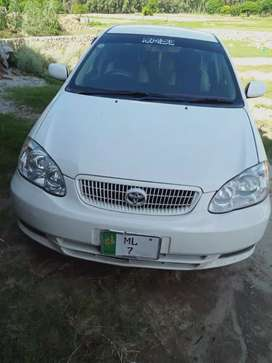 A o a  my Toyota Corolla 2 0D good condition