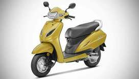 Bike on rent only monthly basis Rent