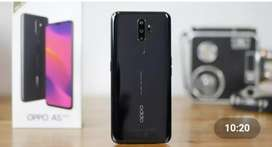 Oppo A5 2020 ha bilkkul new ha ..zero scratch ha All assesries sath
