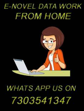 Start earning today by working from your home