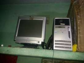 Hp computer ..CPU . monitor and keyboard all good condition s