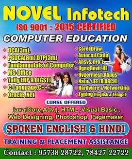 Novel Infotech Computer education