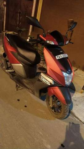 TVS entorq 4month old mint condition