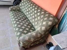 Kursi sofa kuno antik jati