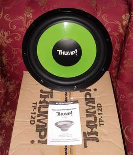 Subwoofer thump 12 inch baru