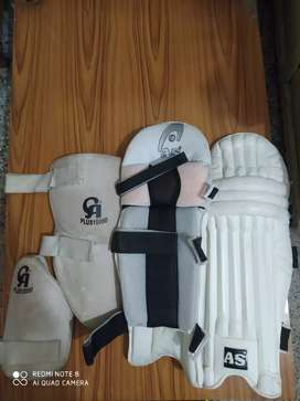 AS cricket battting pads and CA thigh pads
