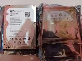 Harddisk laptop Seagate 2.5 Sata 500gb