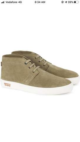 Levis olive green casual shoes