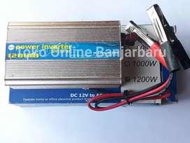 Power Inverter DC to AC 12V to 220V Mengubah Arus DC menjadi Arus AC