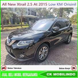 All New Xtrail 2.5 XT matic 2015 Low KM Orisinil Bisa Kredit
