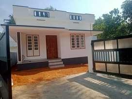 3.25 cent 700 sqft 2 bhk new build at varapuzha koonammav just 700 mtr