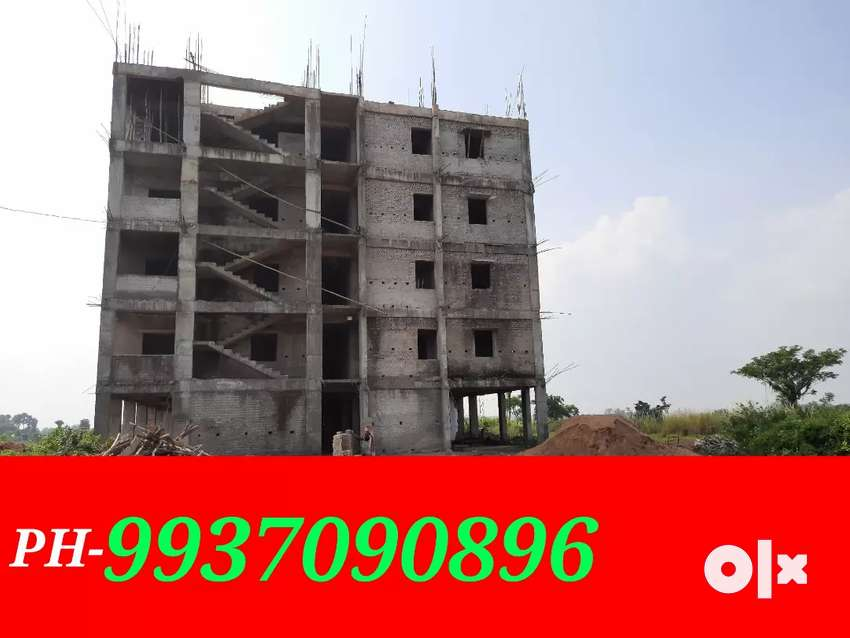 2bhk flat available for sell at sunderpada-jatni road side apartment. 0