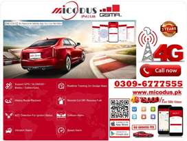 Control your car with 4G tracking system