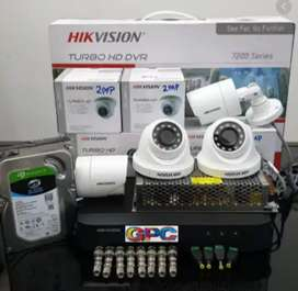 Paket Camera cctv paket lengkap siap pasang cibinong bogor