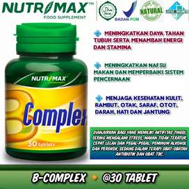 Nutrimax B Complex 30 Tablet Vitamin B Nutrisi untuk Otak Sistem saraf