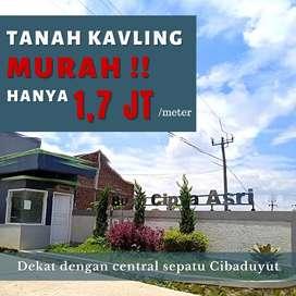TANAH JUAL MURAH DENGAN SURAT LENGKAP