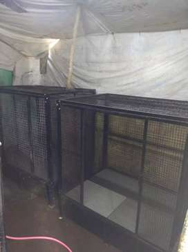 Dogs cage with net