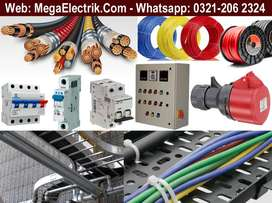 Electric Cables, Panels, Trays, Accessories, Electrical Equipment, DBs
