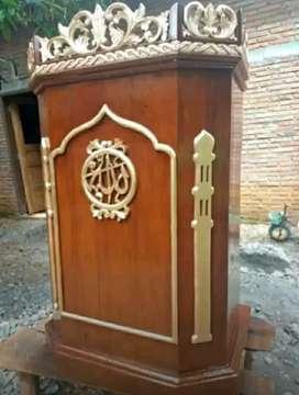 mimbar untuk masjid baru