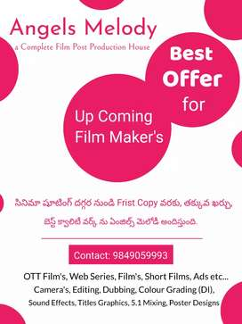 Best Offer for Upcoming Film Director's