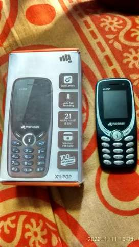 Micromax new Mobile with charger