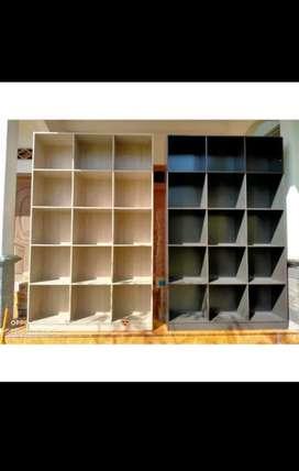 Rak buku 15 ruang