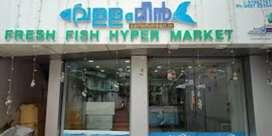 Fresh fish hypermarket.