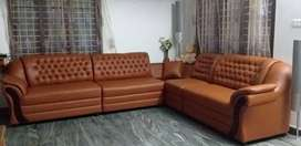 NEW LAVISH KERALA STYLE CORNER SOFAS. FACTORY DIRECT SALE. CALL NOW.