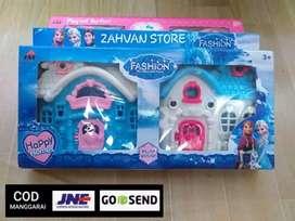 Mainan Rumah Rumahan Boneka Mini / Mainan villaku