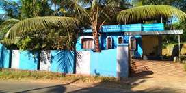 18 cents plot with 3BHK house