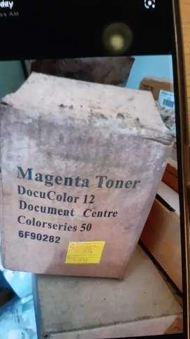 Magenta Toner, Cyan Toner, Gestenter Toner