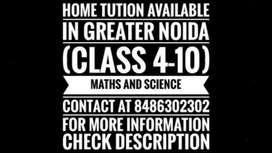 CLASS 4-8 (MATHS AND SCIENCE) & CLASS 9-10 (SCIENCE)