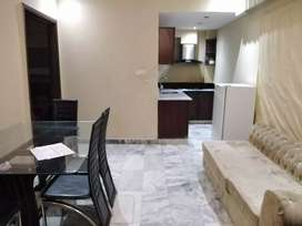 Furnished residential ground Two bedroom flat for rent in bahria ph 1