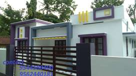 6 cent plot with 1350 sq.ft 3 BHK house in umayanaloor