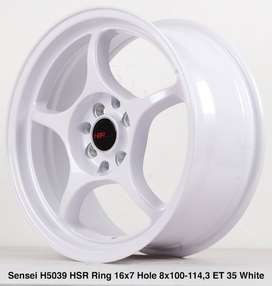 SENSEI 5039 HSR R16X7 H8X100-114,3 ET35 WHITE