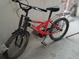Cycle ,colour red,2 seter