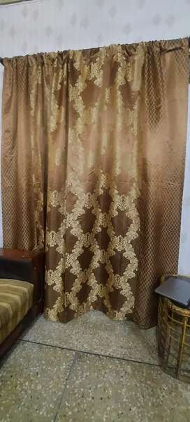 Two windows curtains available