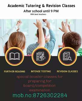 Home tution available for class PG to 12th(competition) students