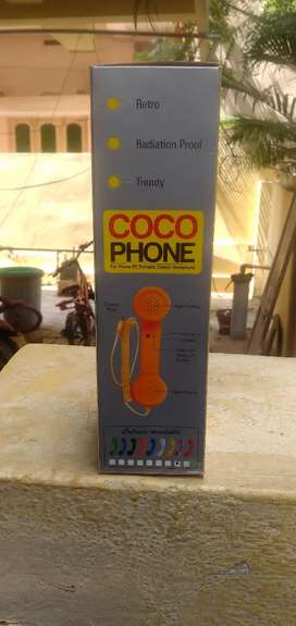 COCO phone (for phone PC portable classical headphone)
