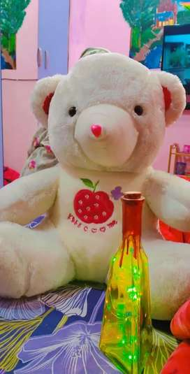 Tedy bear and one bottle lamp