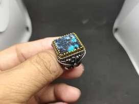 Cincin Bacan Kembang Ring ukir 18 motif indian Navajo