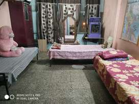 One hall, two bedrooms with attached washroom..