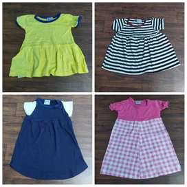 frock tshirt Kids export surplus stocklot boys tshirt girls froc