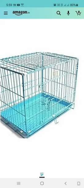 Puppy dog used cage sells