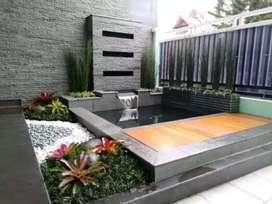 Jasa pembuatan kolam minimalis