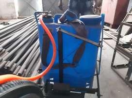 Agriculture sprayer with cranck mechanism