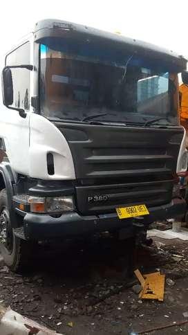 jual tractor head / head trailer / scania p380