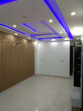 3 BH.K Modern and moduar builder floors near to metro. WITH 90% LOAN