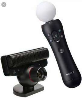 Move Controller with Motion Eye Camera