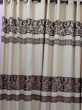 Curtains Soft And light Fabric Parda